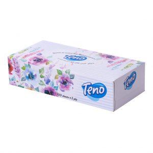 دستمال کاغذی 100 برگ تنو